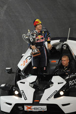 Nations Cup winner Sebastian Vettel for Team Germany