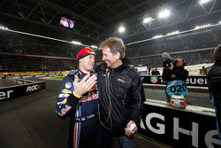 Nations Cup winner Sebastian Vettel for Team Germany with Fredrik Johnsson