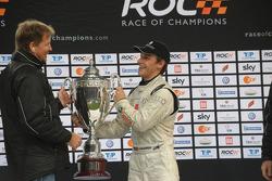 Podium: Race of Champions winner Filipe Albuquerque