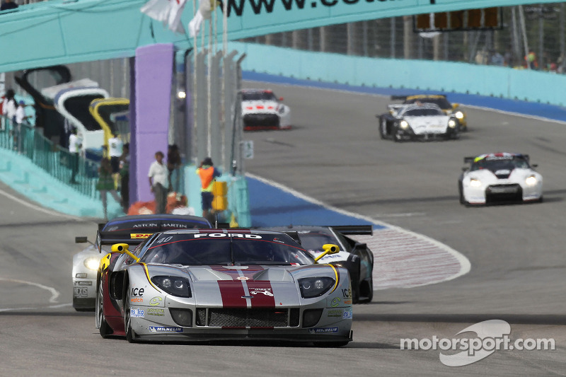 #40 Marc VDS Racing Team Ford GT: Bas Leinders, Maxime Martin