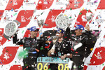Championship podium: 2010 FIA GT1 World champions Andrea Bertolini and Michael Bartels