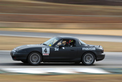 #4 BSI RACING 1991 Mazda Miata Black: Dennis Bize