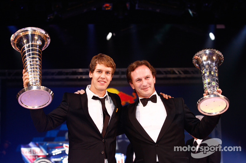 FIA Formula One World Championship: Sebastian Vettel and Christian Horner, Red Bull