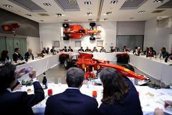 Ferrari Italian F1 media dinner