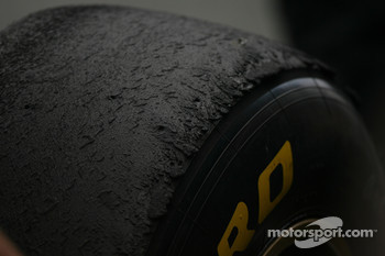 Pirelli introduced a new hard tyre compound in Spain