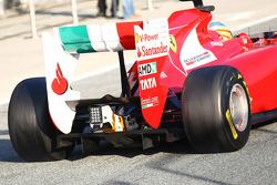 Fernando Alonso, Scuderia Ferrari rear detail