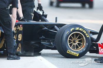 Lotus Renault GP detail