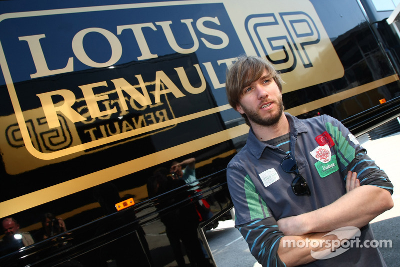 Nick Heidfeld, is due to be testing for Lotus Renault GP to replace Robert Kubica, Lotus Renault GP