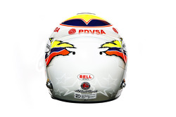 Pastor Maldonado, Williams  helmet