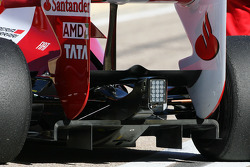 Scuderia Ferrari technical detail, difuser