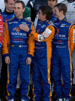 Rolex 24 At Daytona Champions photo: Max Angelelli, Wayne Taylor and Ryan Briscoe