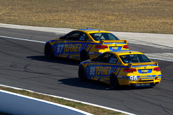 #97 Turner Motorsport BMW M3 Coupe: Joey Hand, Michael Marsal, #96 Turner Motorsport BMW M3 Coupe: Bill Auberlen, Paul Dalla Lana, Joey Hand