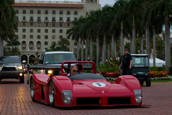 A Ferrari 333 SP heads to the streets of West Palm Beach