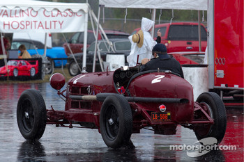 Alfa Romeo P2 in the rain