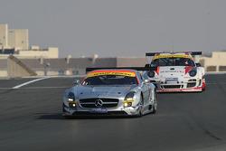 #7 Black Falcon Mercedes Benz SLS AMG GT3: Thomas Jäger, Kenneth Heyer, Jan Seyffarth, Sean Paul Breslin