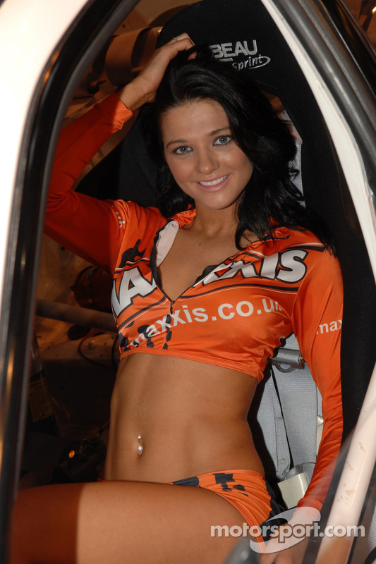 Maxxis Promo Girl At Autosport International Show