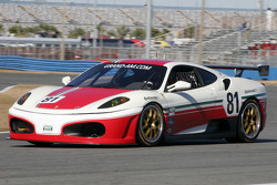 #81 DragonSpeed Ferrari 430 Challenge: Nick Jones, Elton Julian, Fred Poordad, Cort Wagner, Christian Zugel