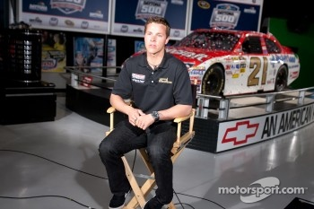 Champion's breakfast: Trevor Bayne, Wood Brothers Racing Ford