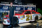 Champion's breakfast: 2011 Daytona 500 winner Trevor Bayne, Wood Brothers Racing Ford