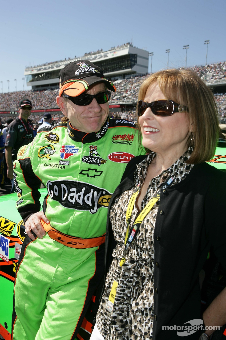 10 Nascar Wives And Girlfriends Pictured Trackside Amp On