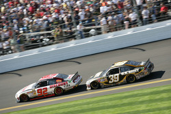 Brian Keselowski, Keselowski Dodge and Ryan Newman, Stewart-Haas Racing Chevrolet