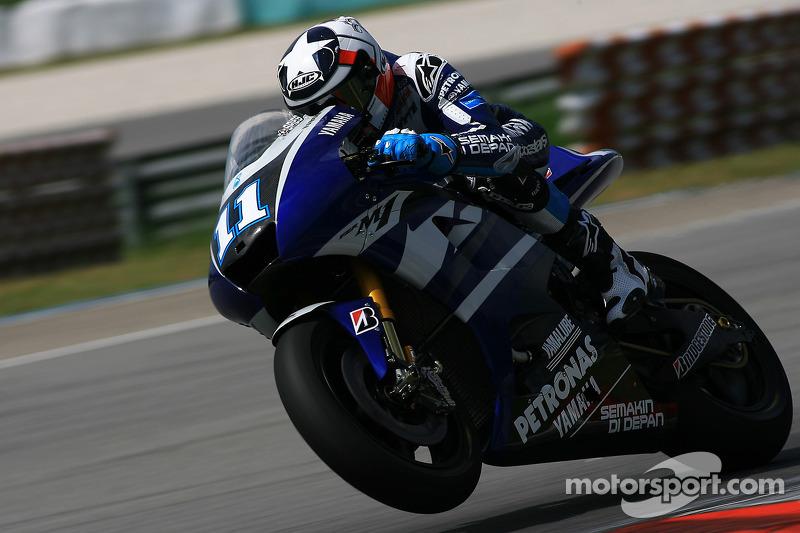 Ben Spies of Yamaha Factory Team