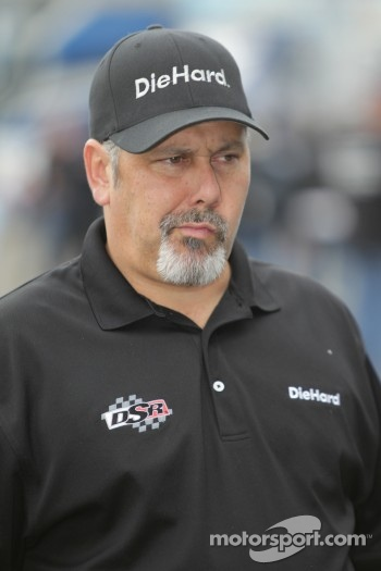 Tommy DeLago, crew chief for Matt Hagan's Diehard Dodge Charger Funny Car