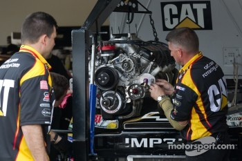 New engine for Jeff Burton, Richard Childress Racing Chevrolet