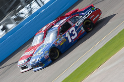 Casey Mears, Germain Racing Toyota and Trevor Bayne, Wood Brothers Racing Ford