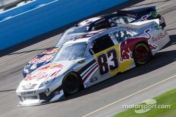Brian Vickers, Red Bull Racing Team Toyota and Kasey Kahne, Red Bull Racing Team Toyota