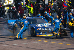 Pit stop for Brad Keselowski, Penske Racing Dodge