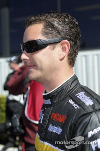 Spencer Massey, driver of the Prestone / Fram Top Fuel Dragster