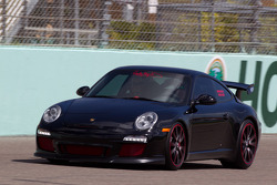 Hurley Haywood in the Porsche 911 GT3
