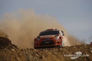 Henning Solberg and Ilka Minor, Ford Fiesta RS WRC, M-Sport Stobart Ford World Rally Team