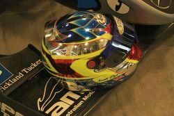 Scott Pye's helmet