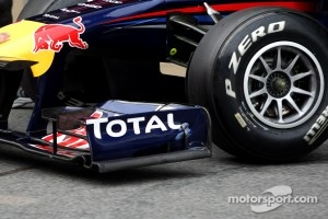 Red Bull Racing front wing detail