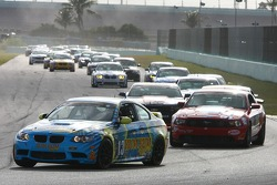 #13 Rum Bum Racing BMW M3 Coupe: Nick Longhi, Matt Plumb leads the GS field on Lap 5