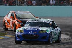#26 Freedom Autosport Mazda MX-5: Andrew Carbonell, Rhett O'Doski