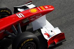 Scuderia Ferrari front wing