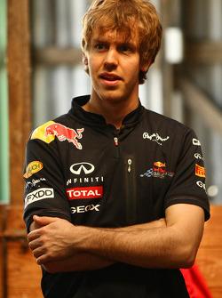 Sebastian Vettel, visits the Australian countryside