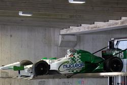 The car of Simona de Silvestro, HVM Racing