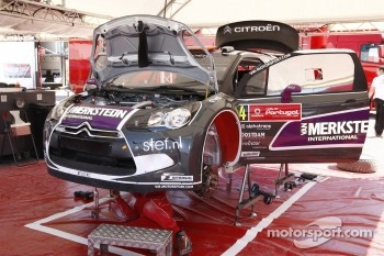 Peter van Merksteijn and Eddy CHevaillier, CITROEN DS3 WRC