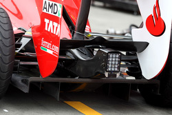 Scuderia Ferrari, technical detail, diffusor