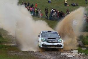 Hayden Paddon and Johnathan Kennard, Subaru Impreza