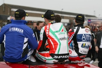 Marco Melandri, Leon Camier, Carlos Checa