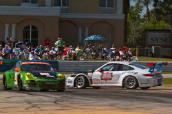 Spin for #068 TRG Porsche 911 GT3 Cup: Dion von Moltke