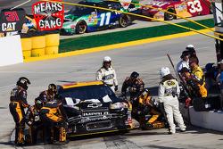 Pit stop for Jeff Burton, Richard Childress Racing Chevrolet