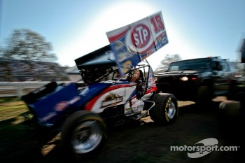 Push off for Donny Schatz