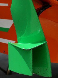 Force India F1 Team, Technical detail, wing, sidepod