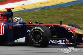 Ricciardo in his role as Friday driver for Toro Rosso